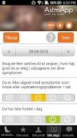 Screenshot of AstmApp