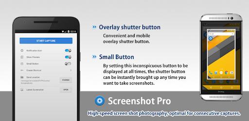 Screenshot Pro app for Android screenshot