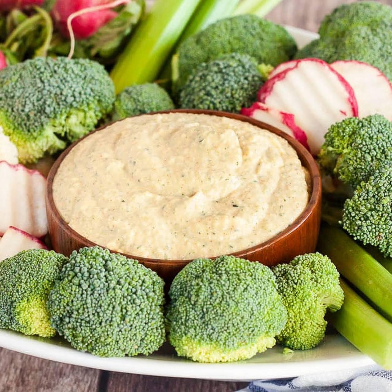 Keto Hummus (with a Secret Ingredient!)