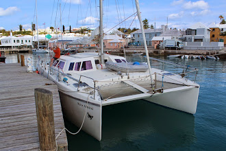 Photo: Tied up at the Custom's Jetty, St. George, Bermuda