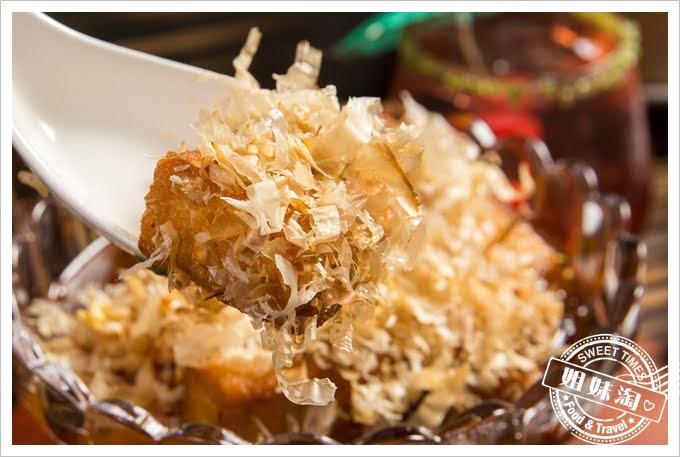 旅人灶咖無國界創意料理秘汁老皮嫩豆腐