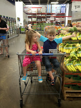 Photo: Benjamin and Lyla were happy to be shopping at Sam's Club.   *This google+ story is a part of a sponsored review of the Samsung Smart Camera through Collective Bias. Visit http://linesacrossreviews.blogspot.com/2013/06/samsung-smart-camera-review-plus-how-to.html for the full review.