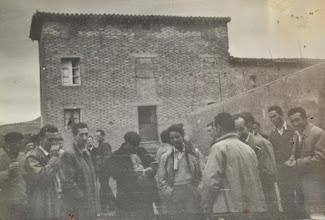 Photo: En fiestas. Proveedor: Mireia García. Año: 1953.