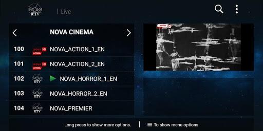 NOVA IPTV 2.0 screenshots 1