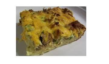 Make Ahead Sausage Breakfast Casserole