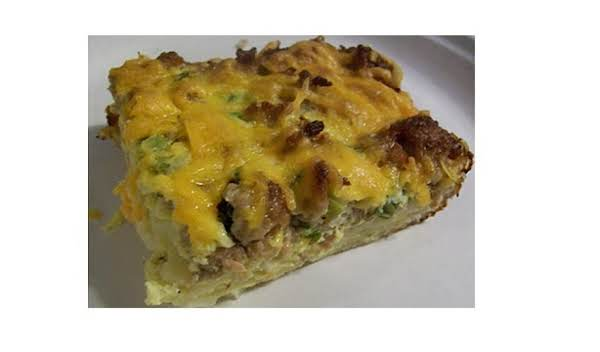 Make Ahead Sausage Breakfast Casserole