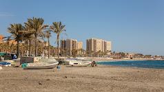 Playa de San Miguel en Almería.