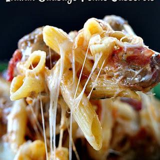 Italian Sausage Penne Casserole Recipe