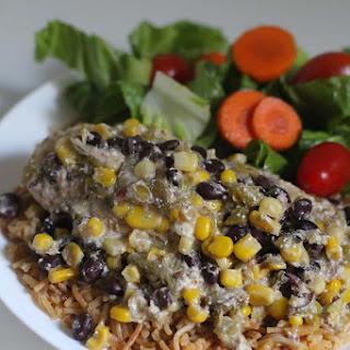 Salsa Verde Crockpot Chicken