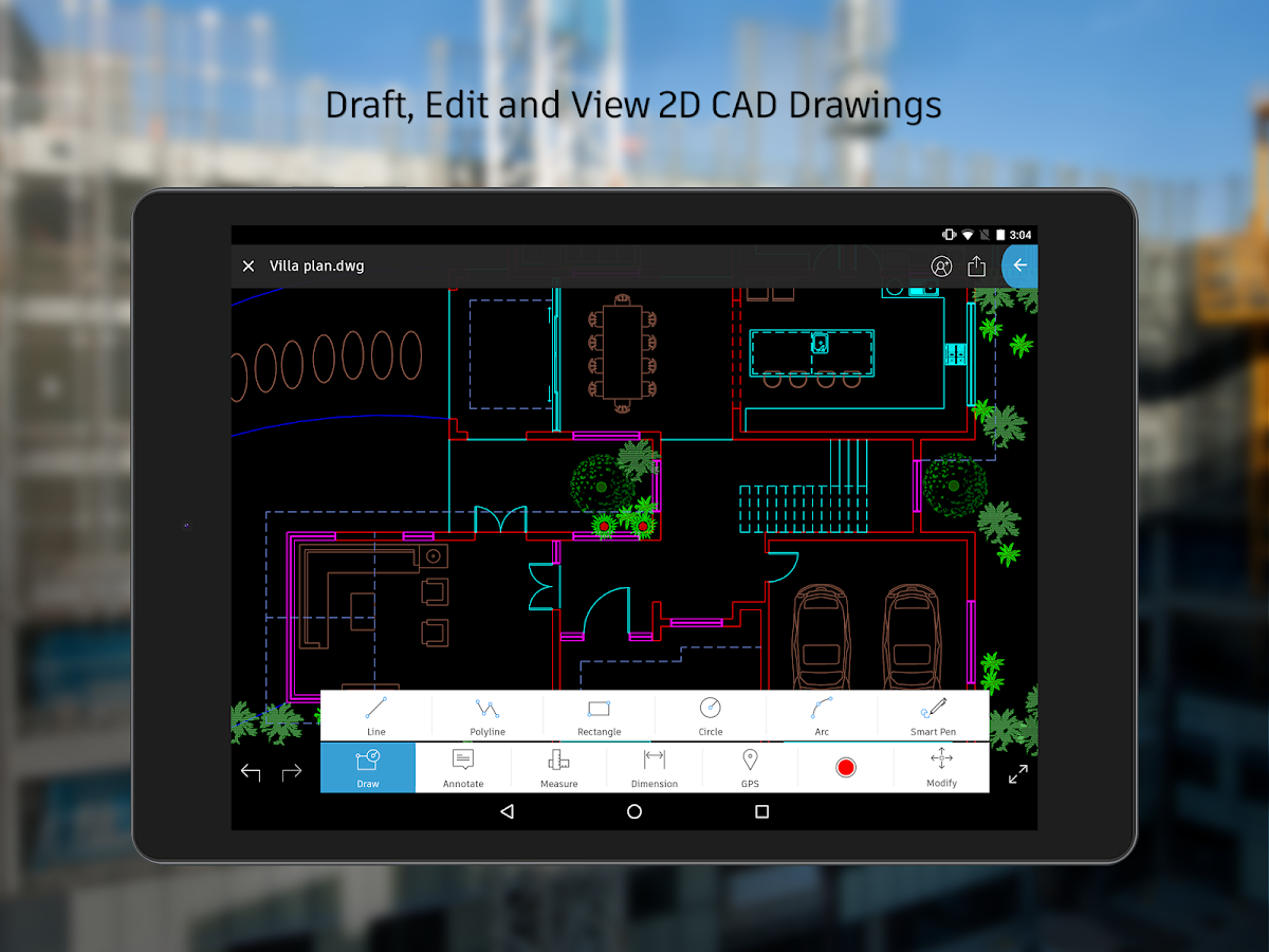 AutoCAD 360- screenshot