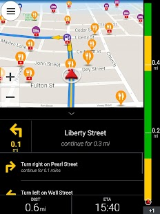 CoPilot GPS - Navigation Screenshot