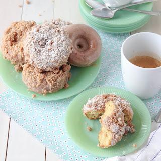 Homemade Crumb Donuts