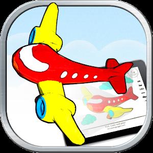 3d coloring pages ar app - 3d Coloring Pages