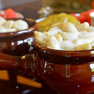 White Cheddar Macaroni & Cheese.
