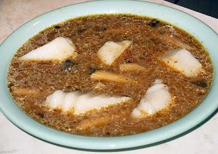 Photo: Zupa grzybowa z kostkami z kaszy manny 04