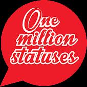One Million Statuses