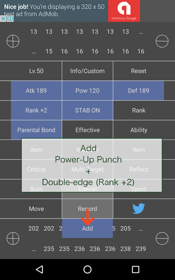 Arc Pokemon Damage Calculator- screenshot