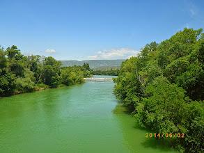 Photo: Le rio Aragon à Sangüesa