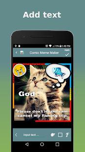 Comic Meme Maker - náhled