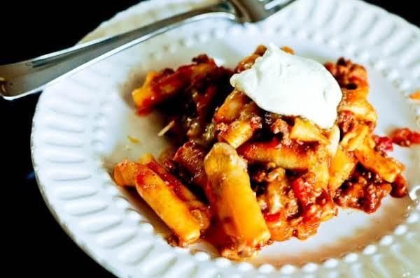 Slow Cooker Beef Ziti Recipe Was Pinched From <a Href=http://addapinch.com/cooking/slow-cooker-beef-ziti-recipe/ Target=_blank>addapinch.com.</a>