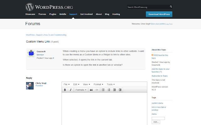 Wordpress.org Support Enhancement Kit