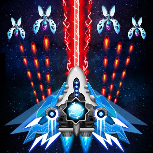 Space shooter - Galaxy attack - Galaxy shooter (Mod Money) 1.463 mod