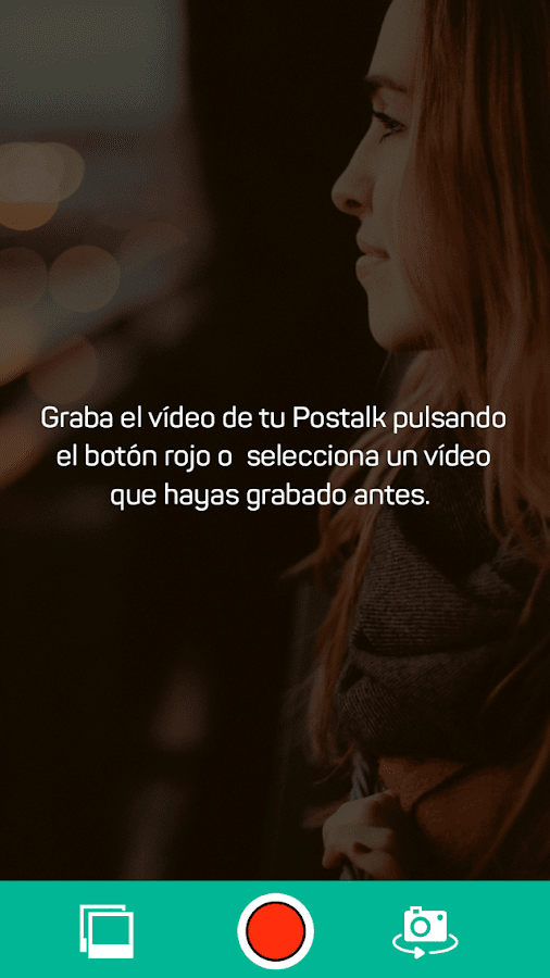 Postalk- screenshot