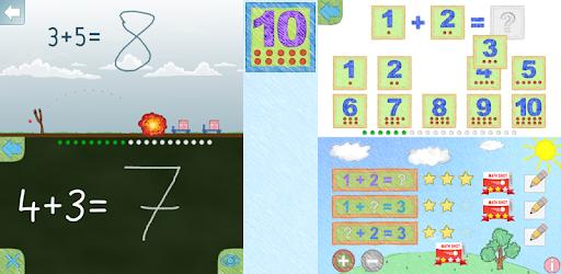 Вычитание и сложение до 10 app for Android screenshot
