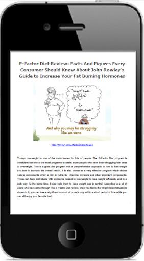 Efactor Diet Review