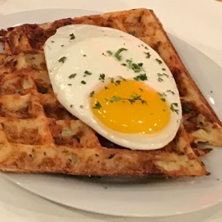 Herbed Parmesan Hash Brown Waffle Recipe from Chef George Duran.
