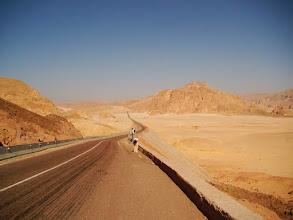 Photo: #004-Le désert sur la route de Sainte Catherine