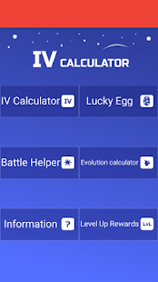 IV Calculator for Pokemon GO- screenshot thumbnail