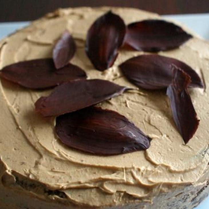 Chocolate Cake with Coffee Marscarpone Icing