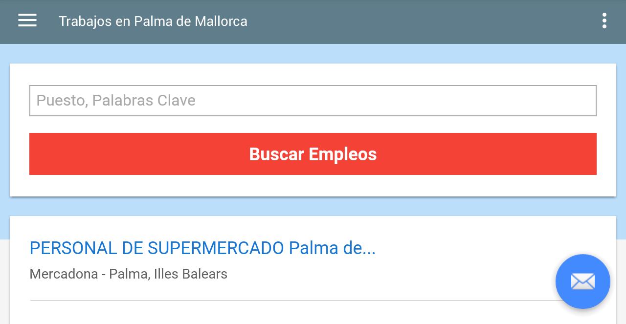 Trabajos en palma de mallorca android apps on google play - Busco trabajo en palma de mallorca ...