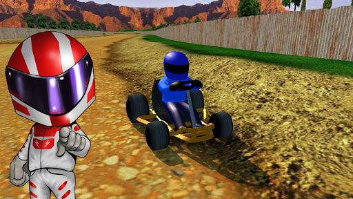 Rush Kart Racing 3D  gameplay | by HackJr.Pw 16