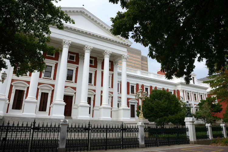 A parliamentary official has allegedly killed himself within the legislature's precinct.