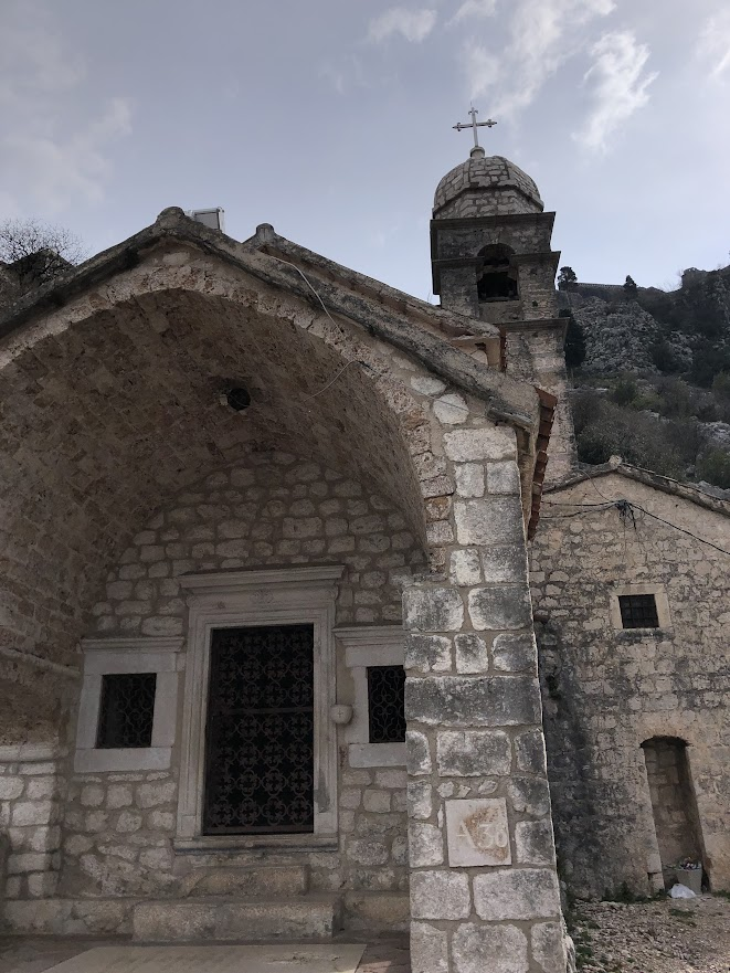 Church on city walls hike