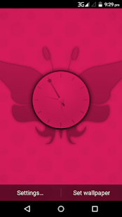 Fairy Clock Live WallPaper - náhled