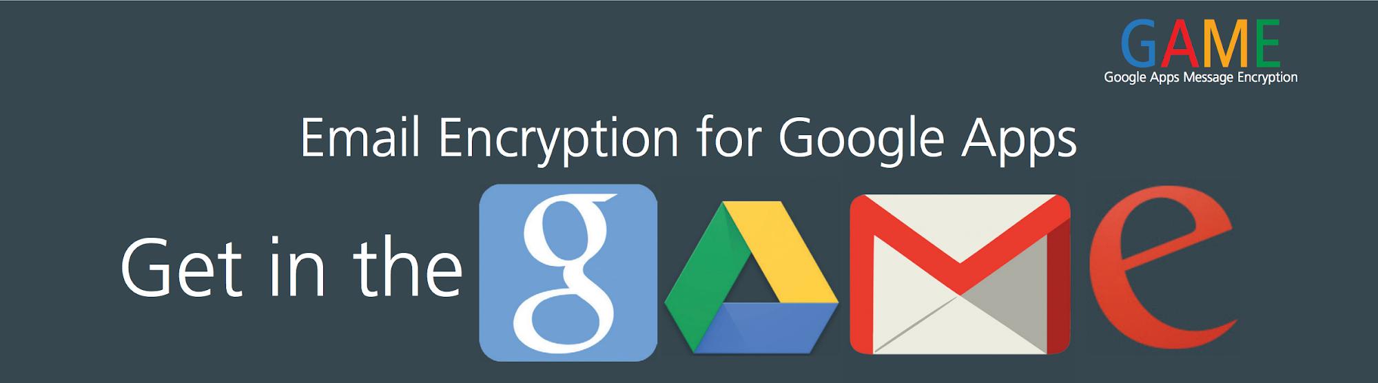 Google Apps Message Encryption Demo