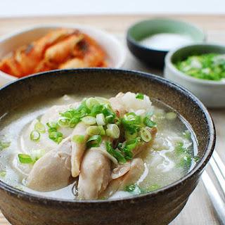Dak Gomtang (Korean Chicken Soup).