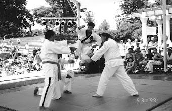 Photo: Darimar Martial Arts Grandmaster Jang 1999