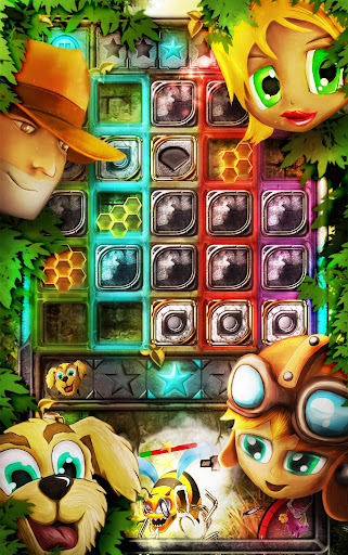 玩免費解謎APP|下載Jungle Crush: Blocks Puzzle app不用錢|硬是要APP