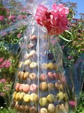 Photo: Pyramide de macarons
