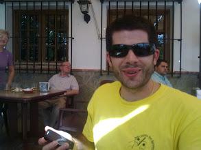 Photo: MI COLEGA MANOLO EN EL BOSQUE (GRAZALEMA) 2010