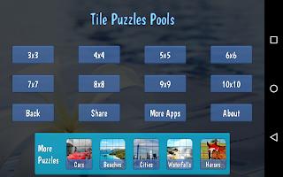 Tile Puzzles · Pools