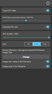 Image Size - Photo Resizer Screenshot