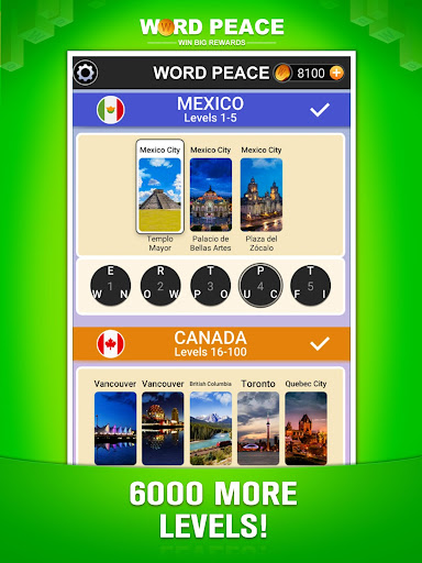 Word Peace -  New Word Game & Puzzles screenshots 19