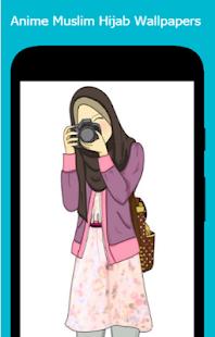 Anime Muslim Hijab Wallpapers Apps Bei Google Play