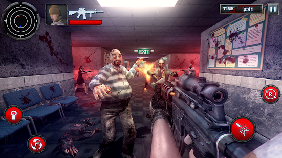 Zombie Hunter into the dead - náhled