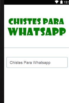 Chistes Para Whatsapp - screenshot